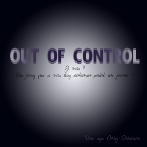 Out of Control Visuel